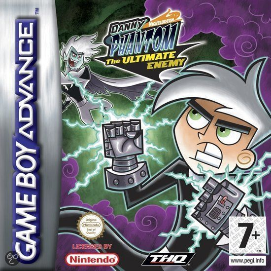 Danny Phantom: The Ultimate Enemy is a video game for the Game Boy Advance console. Description from imgarcade.com. I searched for this on bing.com/images