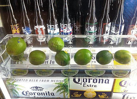 thinking of what you need - example of cross selling - Cooler Door Lime Cross Sell