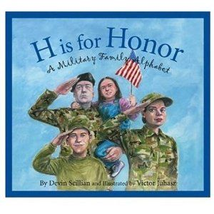 Book, H is for Honor by Devin Scillian & other Veteran's Day book ideas