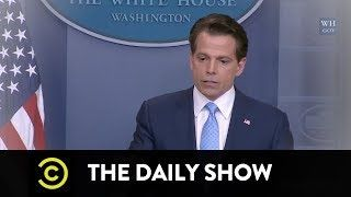 Goodbye Anthony Scaramucci: The Daily Show