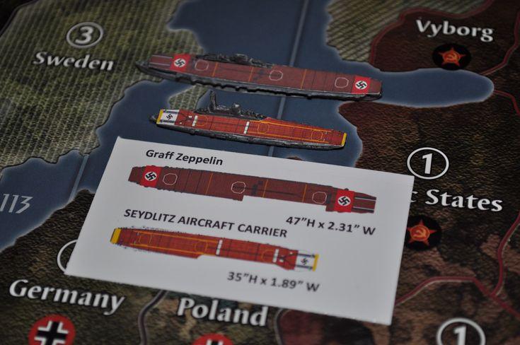 Custom seydlitz graf zeppelin german carrier decal set