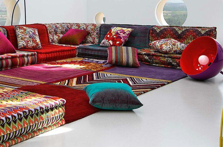 Wallpapers hd roche bobois mah jong modular sofa