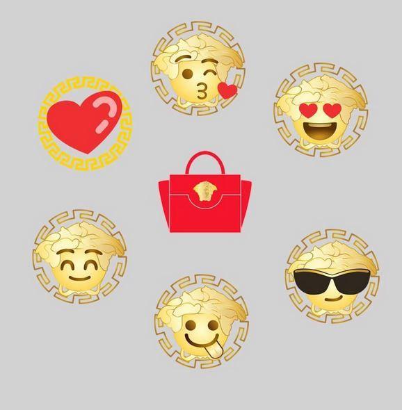 День святого Валентина, фэшн-смайлики, эмодзи, новинка, Versace - Женский портал - LADY.tsn.ua - Сторінка новини - ТСН.ua
