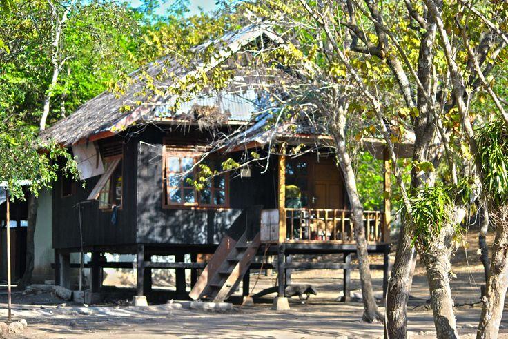 a House inside Rinca Island