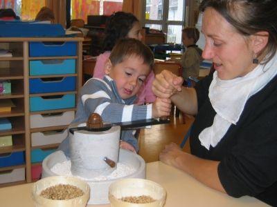 Ecole Maternelle de Larmor Plage - du grain au pain tout en photos