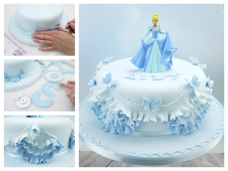 Princess Cake With Frills