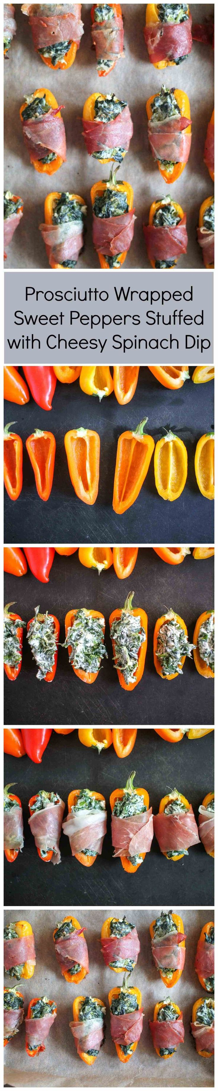 This appetizer is so easy! Sweet peppers are stuffed with a homemade cheesy spinach dip, wrapped with prosciutto, and then baked. It's a lovely combination of creamy cheesy flavors and crispy salty prosciutto. And the recipe is so simple that anyone can make it successfully. Stuffed Sweet Peppers will make a great addition to your (read more)