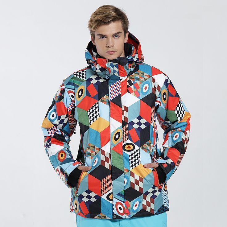 103.94$  Watch here - http://alit85.worldwells.pw/go.php?t=32779340388 - 2016 winter ski suit snowboard ski jacket men chaqueta esqui hombre thermal waterproof veste ski homme jas heren 103.94$