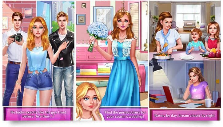 12 Love Story Games For Android Tech Trainee Story Games Love Story Perfect Dress
