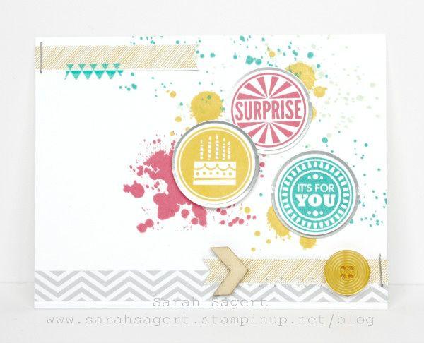 Stampin' Up! - Display Boards - Amazing Birthday - Sarah Sagert - www.sarahsagert.stampinup.net/blog