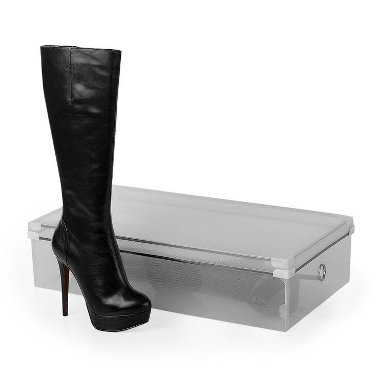 Коробка для хранения сапог с крышкой Shoebox