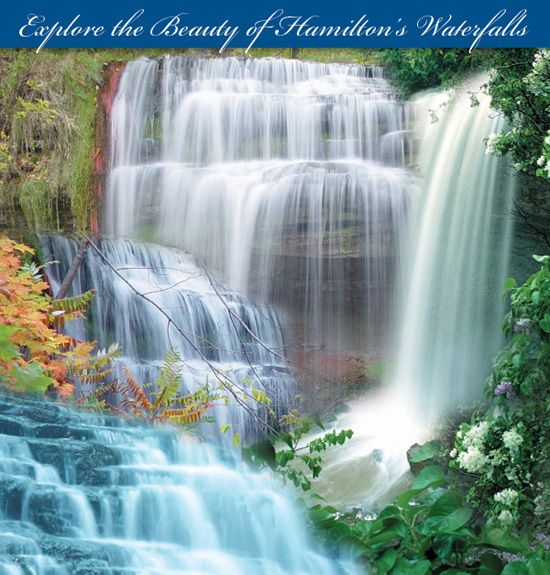 The City of Waterfalls! Hamilton boasts over 100 waterfalls identified by Hamilton Conservation Authority, found along the Bruce Trail and the Niagara Escarpment.