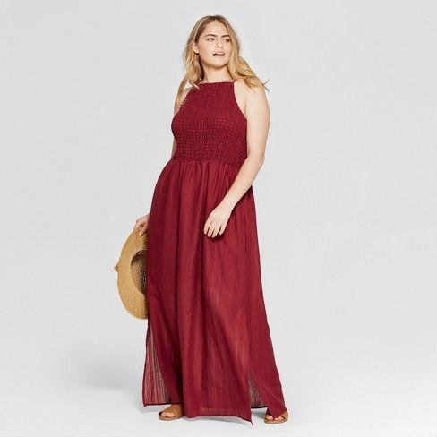 Women\'s Plus Size Smocked Maxi Dress - Universal Thread ...