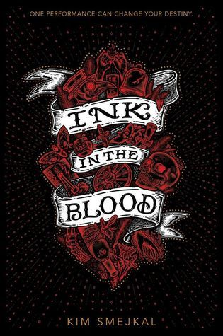 Best Ya Books Of 2020 Ink in the Blood (Ink in The Blood #1) by Kim Smejkal: February