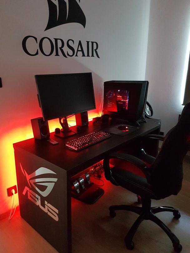Corsair Gaming Setup | gaming Gifs & Setup Ideas! in 2019