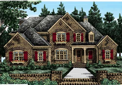 Canton chase home plans and house plans by frank betz for Www frankbetz com