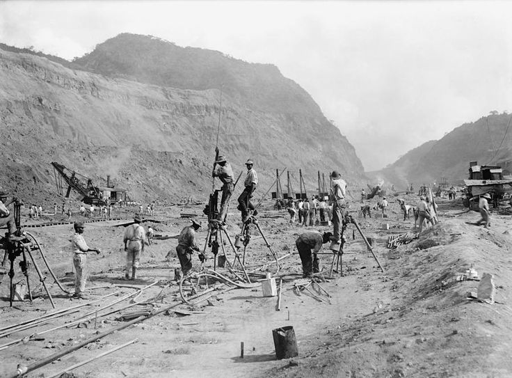 Panama Canal History   Panama Canal Construction