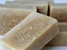 Goatsmilk-Oats Scrubsoap - geitenmelk met haverscrub zeep