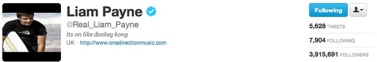 Liam's new twitter bio :)