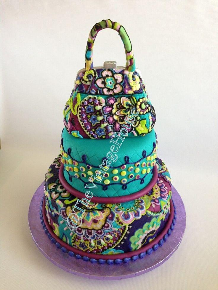 Vera Bradley Heather Cake #VeraBradley #CAKE #AmazingCakes