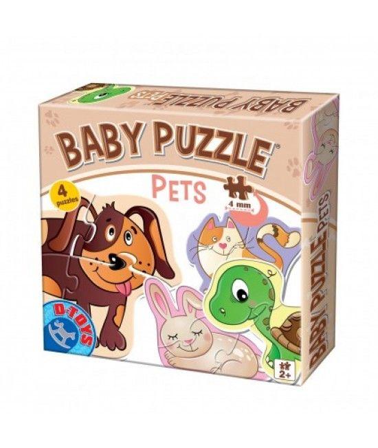 Puzzle-ul face parte din gama Baby Puzzle si este special conceput pentru copii cu varste peste 2 ani.