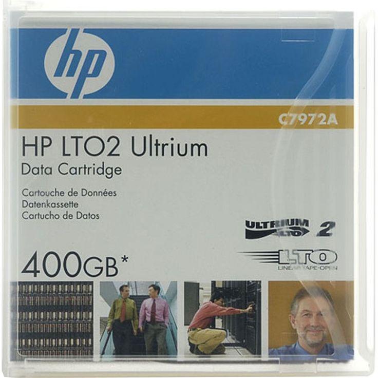 LTO2 Ultrium 400  Dankzij HP's unieke uitgebreide mediaselectieproces ondersteunen HP Ultrium 400-GB data de HP StorageWorks 460 tapedrive. HP Ultrium 2 tapes combineren lage gebruikskosten met een uitzonderlijke betrouwbaarheid en prestaties.  EUR 23.99  Meer informatie