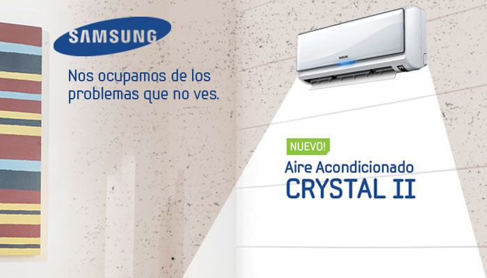 Samsung Air Conditioner by Lorena at crowd-relations.com
