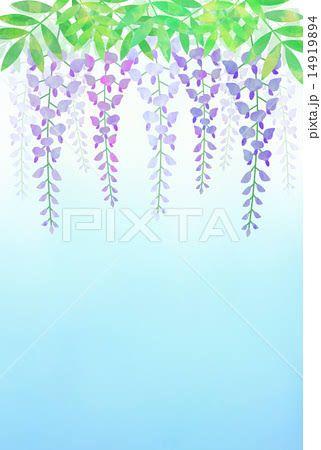 「藤の花 イラスト」の画像検索結果   サンドブラスト用   Home Decor、Decor、Decals