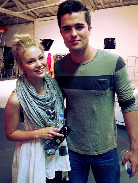 Photo: Spencer Boldman With Olivia Holt For RDMA Work March 31, 2014