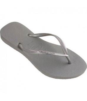 Havaianas Slim Flip Flop - Pewter Gray - The Blues Jean Bar