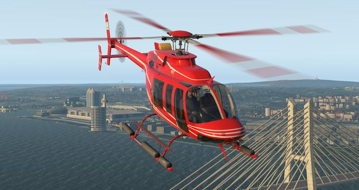 It's here! DreamFoil Creations just released their Bell 407 for X-Plane 11! And, yes you can get it with a nice discount!