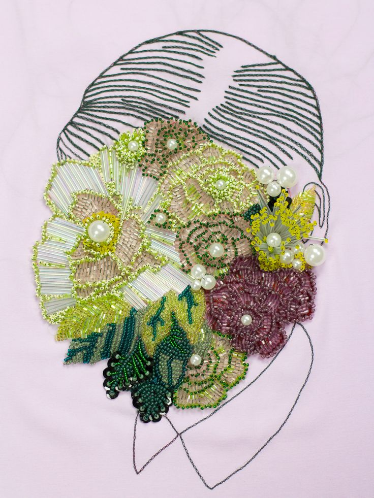 Embroidery Archive: 20173 Flowerhead