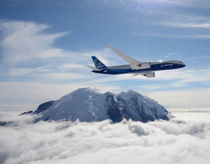 Boeing 787 Dreamliner Plane