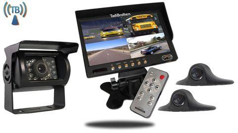 9-Inch Wireless Ultimate RV Backup Camera System