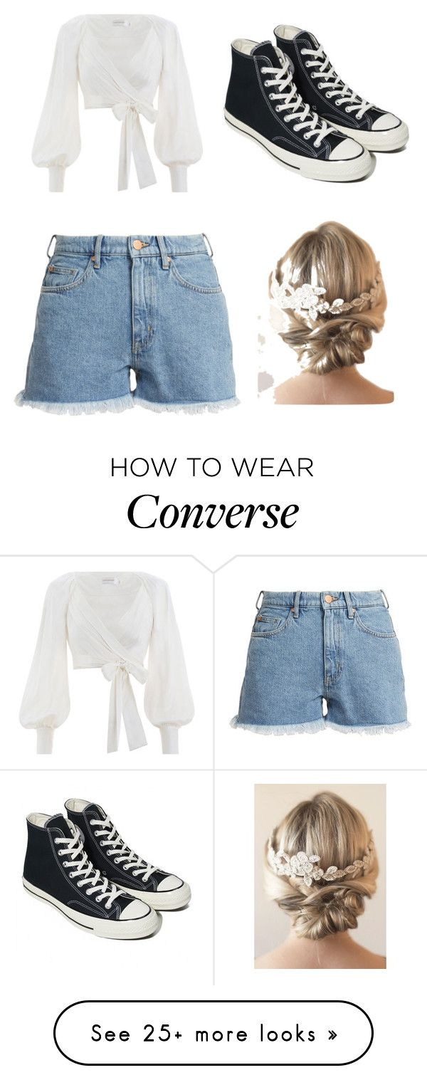 """""""Brother pick my outfit challenge"""" by hellohellohellog on Polyvore featuring Zimmermann, M.i.h Jeans, Converse, brothers and 50likes"""
