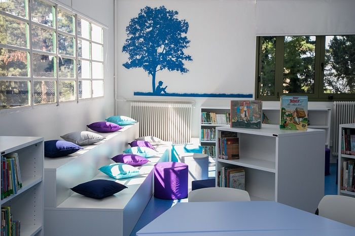 Μία νέα βιβλιοθήκη στο Κολλέγιο Ανατόλια