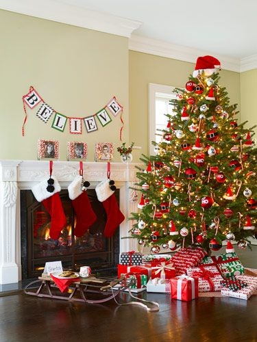 Believe Banner - Christmas Decorating Themes and Crafts - Good Housekeeping
