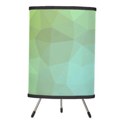 LoveGeo Abstract Geometric Design - Chartreuse Tripod Lamp - elegant gifts gift ideas custom presents