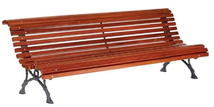 banc de jardin lames en bois exotique code produit. Black Bedroom Furniture Sets. Home Design Ideas