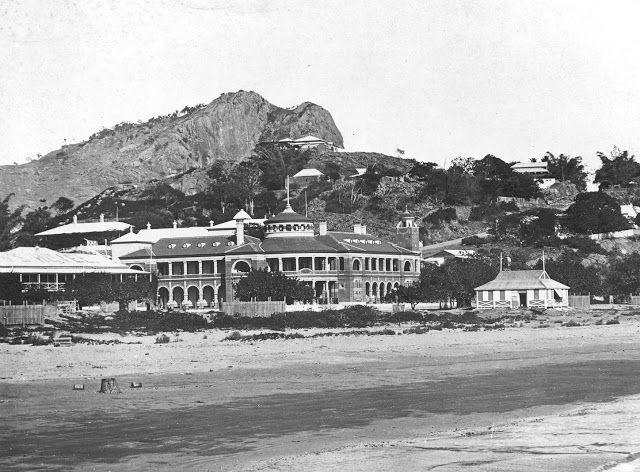 Townsville Customs House with Strand in foreground, early 1900s, Coates Album, NQ Photographic Collection, NQID 10.