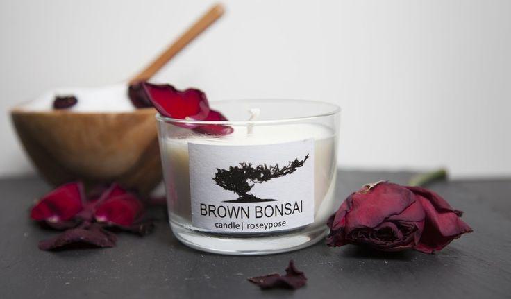 Brown Bonsai Candle #roseyposey #Roses