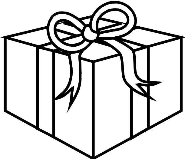 Gift And Presents Coloring Pages For Kids Christmas Coloring