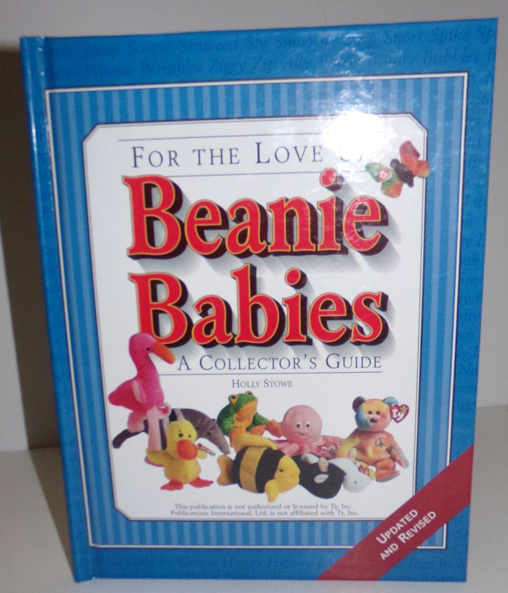 For The Love of Beanie Babies Collectors Guide HC Book - We Got Character