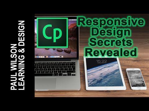 Adobe Captivate 9: Responsive Design Secrets Revealed - Free Tutorial