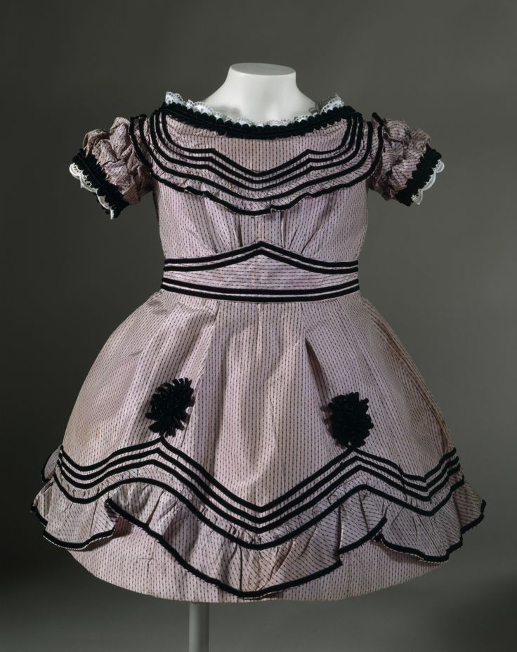 Child's Dress, c. 1864, at the LACMA