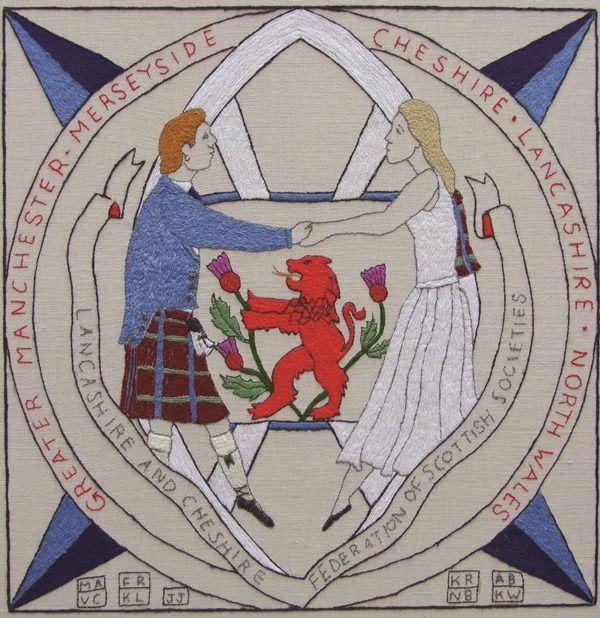 GB-E19 - Lancashire & Cheshire Fed - The Scottish Diaspora Tapestry