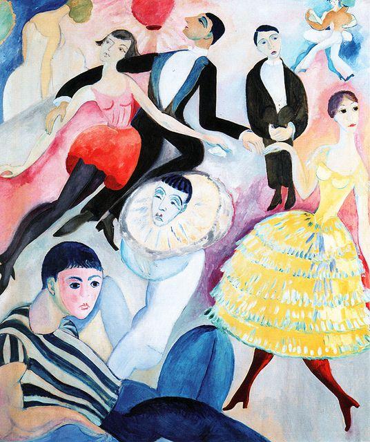 Hjerten, Sigrid (1885-1948) - The Masquerade