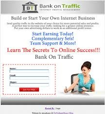 Build or Start Your Own Internet Business.    You can make big income on the Internet. It's a real and easy technique to make profit on the Internet.    If you like BannersBroker, you'll love BankOnTraffic!    Join here : http://bankontraffic.com/SAfridi
