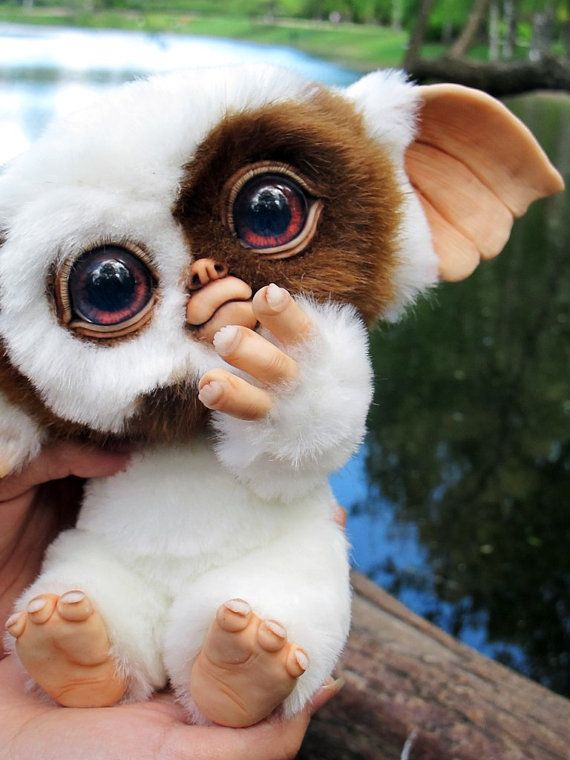 Baby Mogwai Gizmo by GakmanCreatures on Etsy
