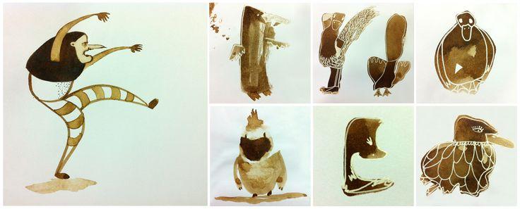 el.pato.y.la.muerte | iChu.ilustradora